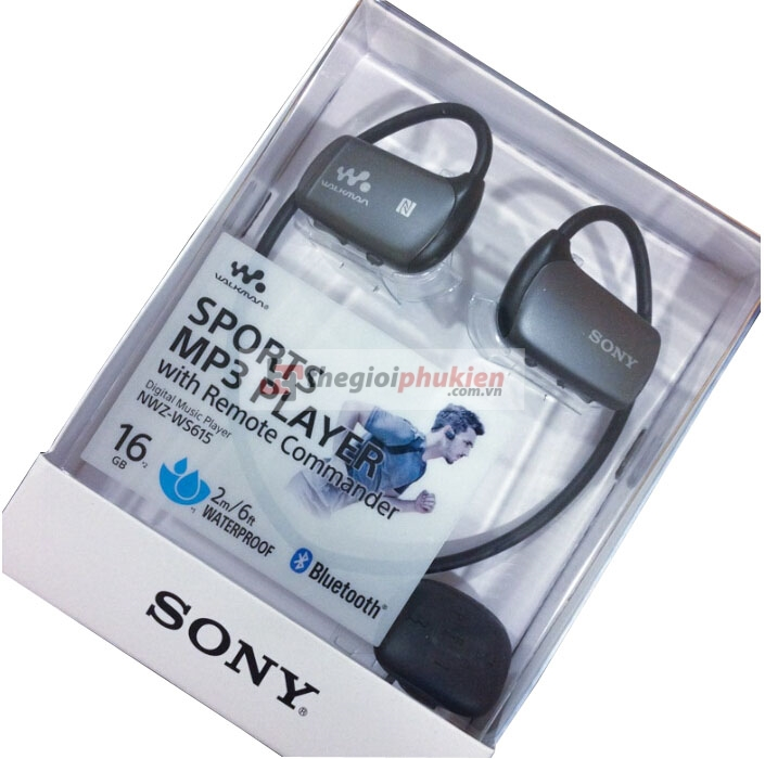 Tai nghe Sony NWZ-WS615 sprots MP3