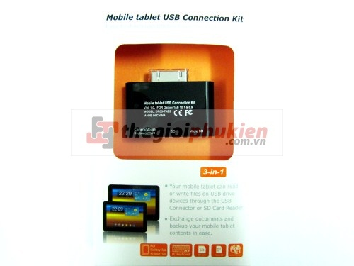 Samsung P7500 Kit 3 in 1 ( OTG + Card reader )