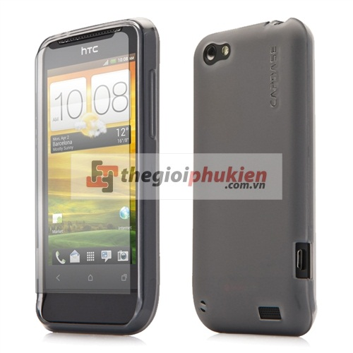 Ốp HTC One V - G24 - Capdase Silicon