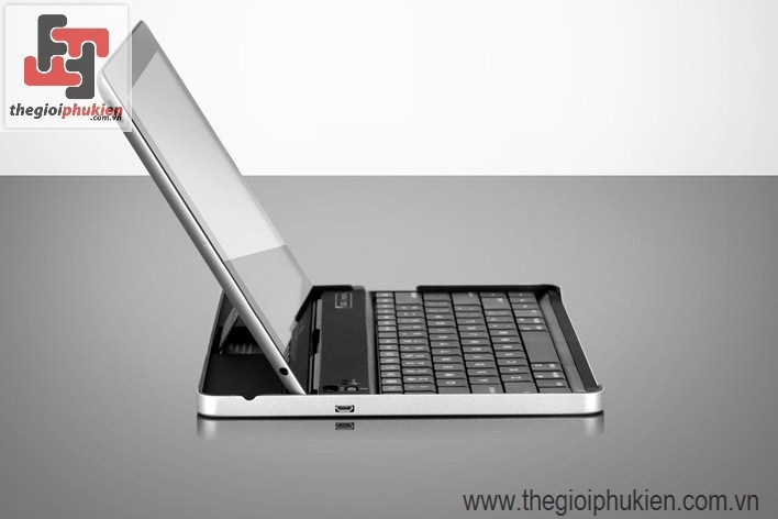 Bàn phím Bluetooth for Ipad/ Ipad2(  Mini Aircraft Aluminum)