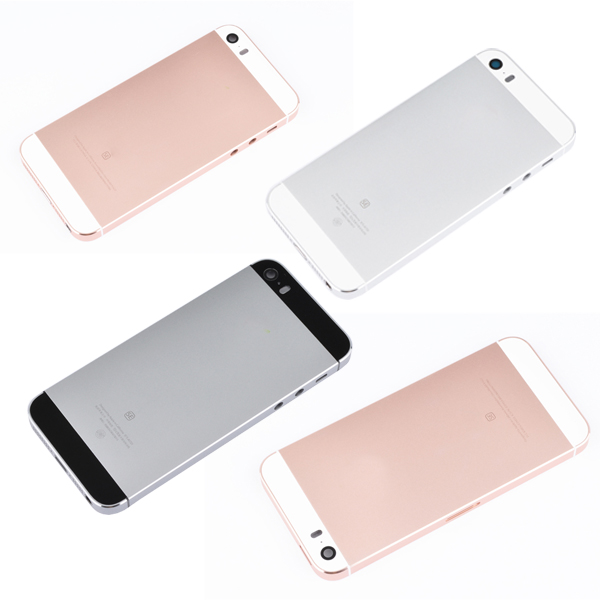 Vỏ iPhone 5 - iPhone 5SE Gold - Gold rose - Black - White