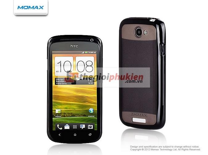 Ốp lưng HTC One S black - Momax iCase Pro