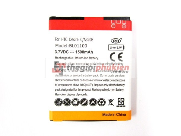 Pin HTC Desire C
