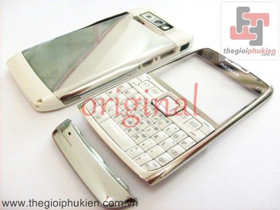 Vỏ Nokia E71 Trắng công ty Full bộ