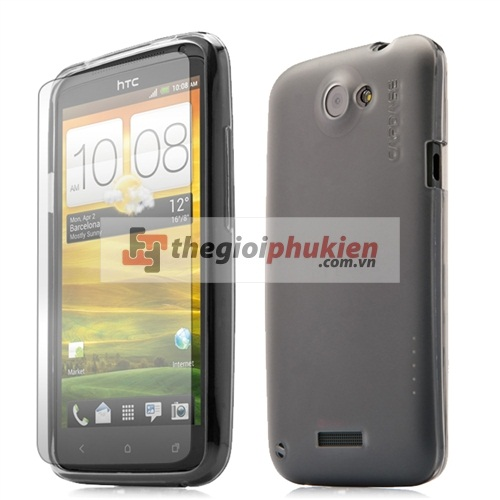 Ốp HTC One X - G23 - Capdase Silicon