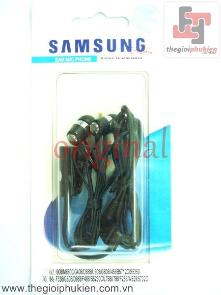 Tai nghe Samsung chân i900 original ( full box )