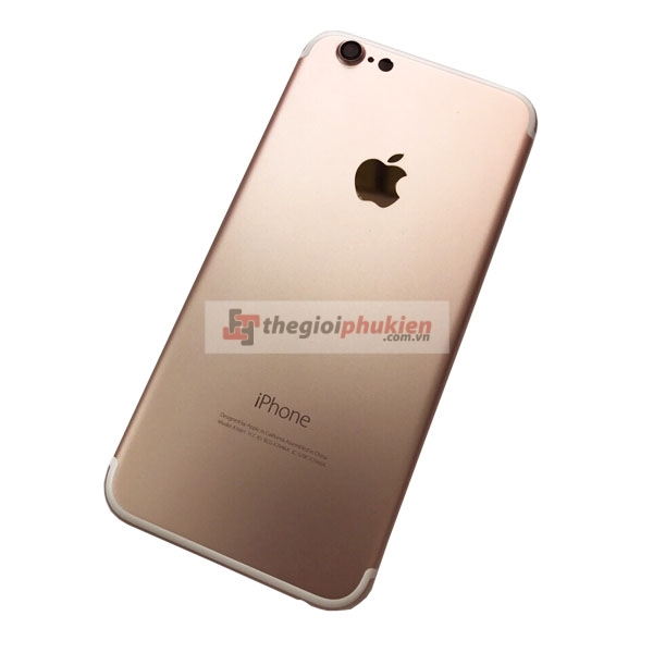 Vỏ iPhone 6 độ lên iphone 7 gold rose