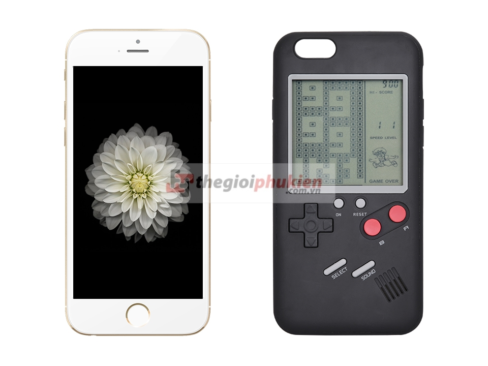 Ốp lưng iPhone 8 Plus/7 Plus/6,6s Plus Wanku game boy
