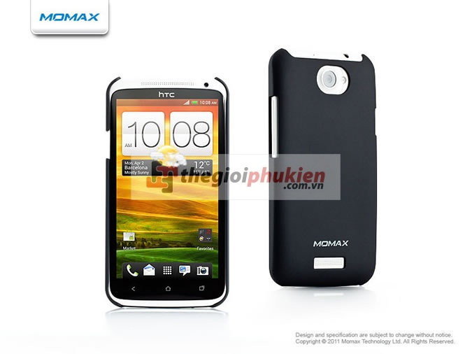 Ốp lưng HTC One X - Momax Ultra Thin Soft Touch