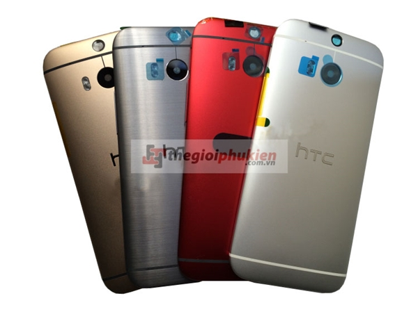 Vỏ HTC One M8 - One 2 M8W/D/T Gold - Silver - Black