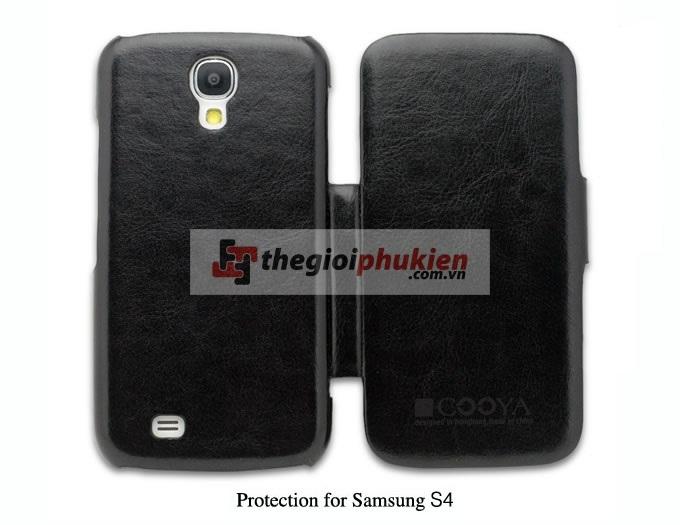 Bao da Samsung S4 - i9500 hãng Cooya