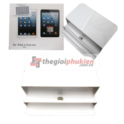 Dock sạc iPad 4/iPad Air / mini ( 2in1)