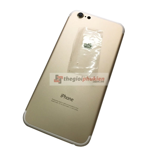 Vỏ iPhone 7 thay iPhone 6 Gold