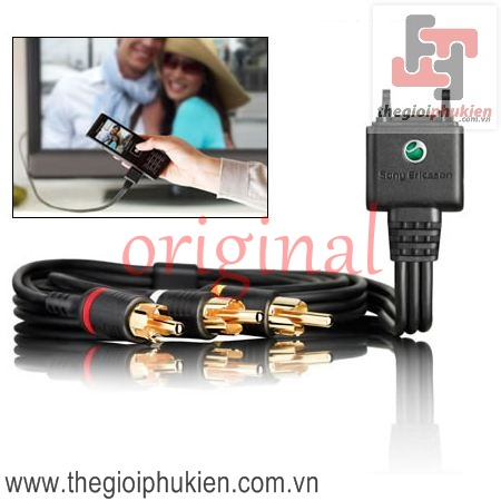 Sony Ericsson ITC-60, TV-Out Cable |