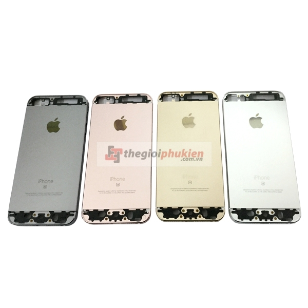Vỏ iPhone 5s - iPhone 5SE white - black - Gold - Gold rose