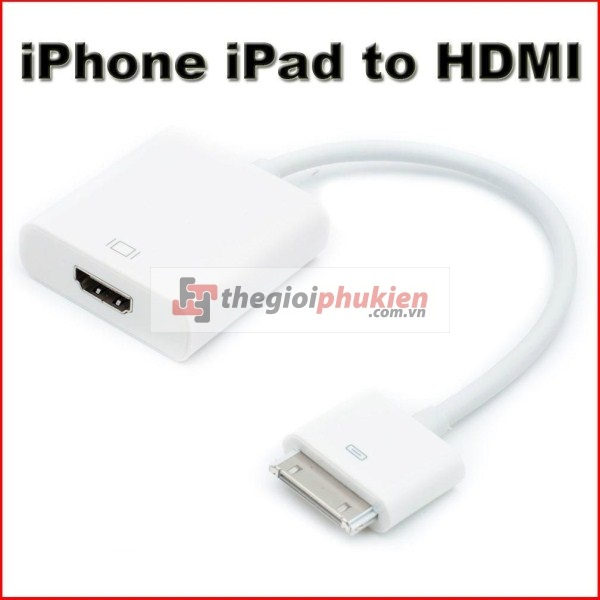 Dock connector HDMI Adapter iPad